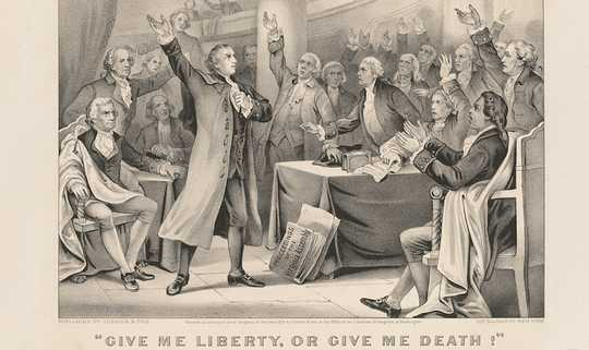 Patrick Henry 'Give Me Liberty, or Give Me Death!' Pidato - Standar Objektif