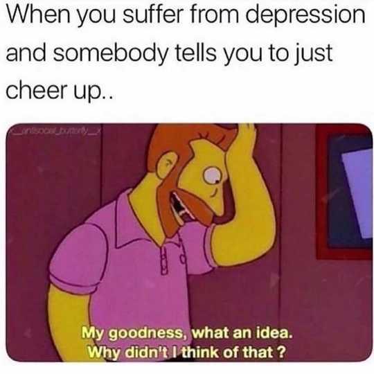Làm thế nào trầm cảm Memes có thể là một cơ chế đối phó cho những người bị bệnh tâm thần