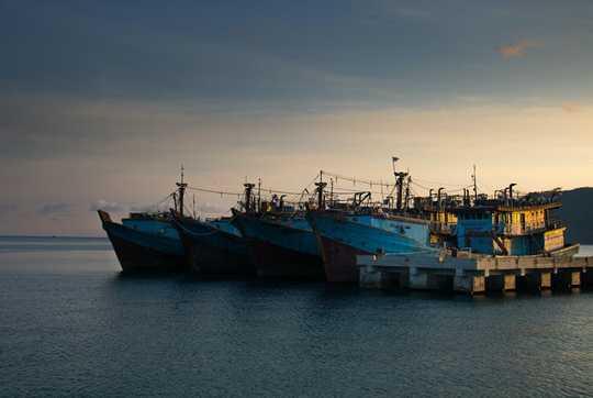 Kalastajat ovat yksi heikoimmista ammateista Indonesiassa, mutta ne ovat yksi onnellisimmista