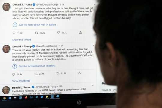 Ang Twitter Labels White House Disinformation