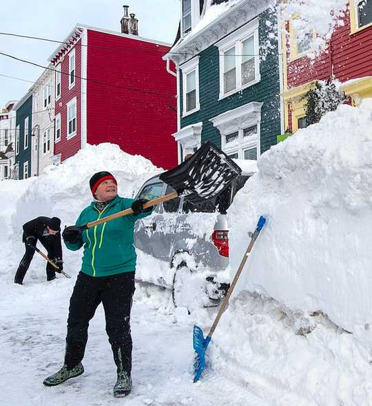 Is Snow Shoveling A Healthy Exercise Or A Deadly Activity?