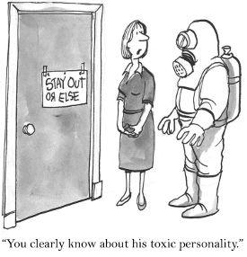 Capo tossico al lavoro?