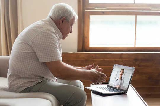 Doktor, seperti pesakit, masih mencari cara untuk berunding melalui telehealth.