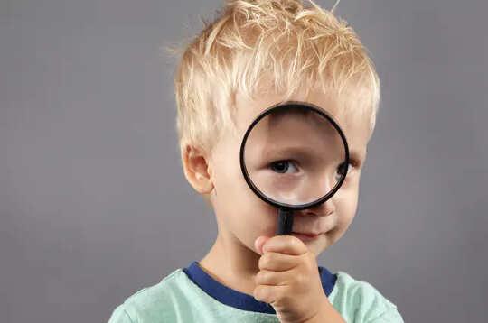 Hvordan barna dine vet når du prøver å ta et modig ansikt