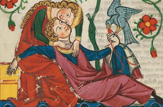 Valentynsdag is herbedink deur ridderlike Middeleeuse digters vir almal om te geniet