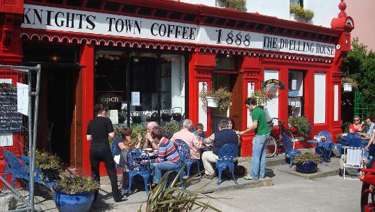 مقهى ، جزيرة فالنتيا ، أيرلندا