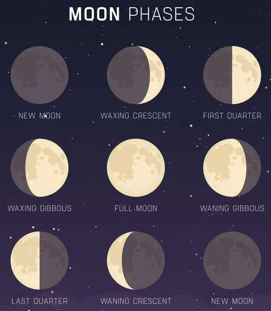 Chu kỳ mặt trăng.