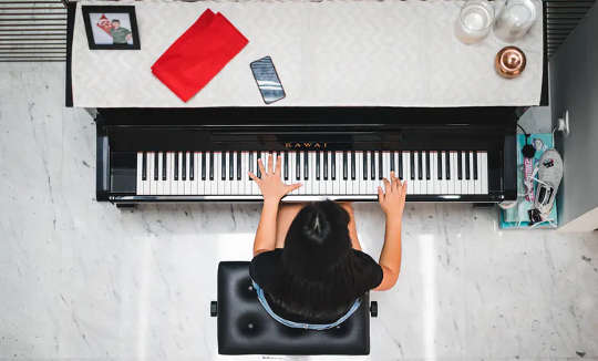 برخی از زمینه های نشستن مانند خواندن ، نواختن ساز یا معاشرت ارتباط مثبت داشتند.