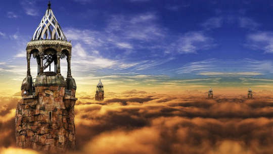 Traveling Between Worlds: Close Your Eyes So You Can See
