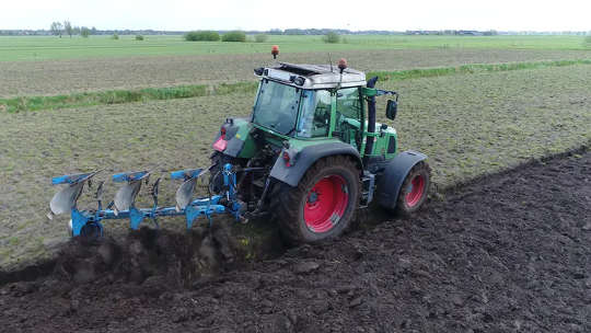 Jordbruk utan störande mark kan minska jordbrukets klimatpåverkan med 30%
