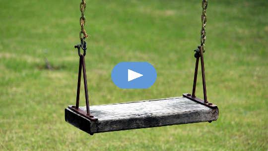 walang laman na swing