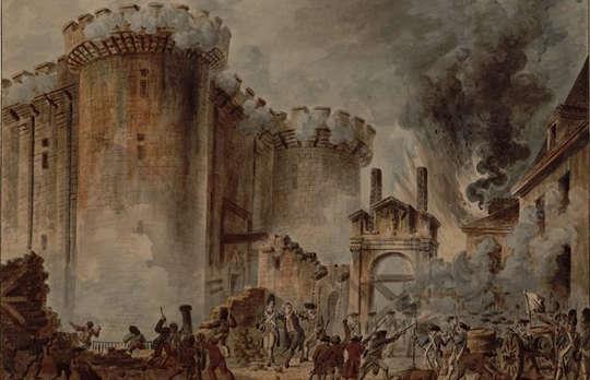 Jean-Pierre Houël (1735–1813), Bastillen myrsky, 1789.