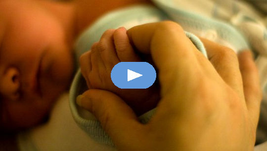 बच्चे का हाथ पकड़ना holding