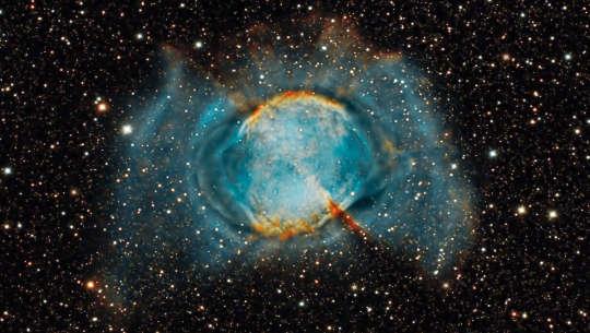 Foto von Messier M27 Nebel