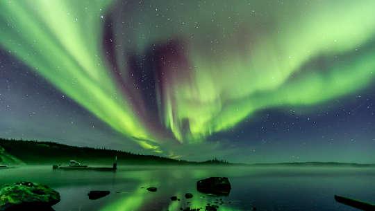 Aurora-Foto von Valerie Pond, 10. Oktober 2021, Yellowknife, NT, Kanada