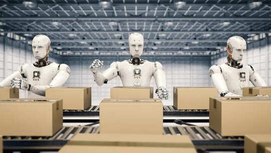 Robot Devrimi Geldi ve İşleri ve İşletmeleri Değiştiriyor