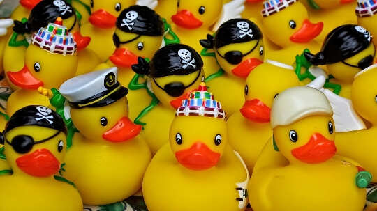 What A Squeezed Rubber Ducky Suggests About The Lingering Effects Of Vaccine Misinformation