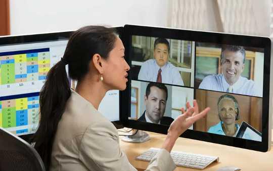 Zoom-werkverhoudings is baie moeiliker om te bou, tensy u nie-verbale aanwysings van kollegas kan kry