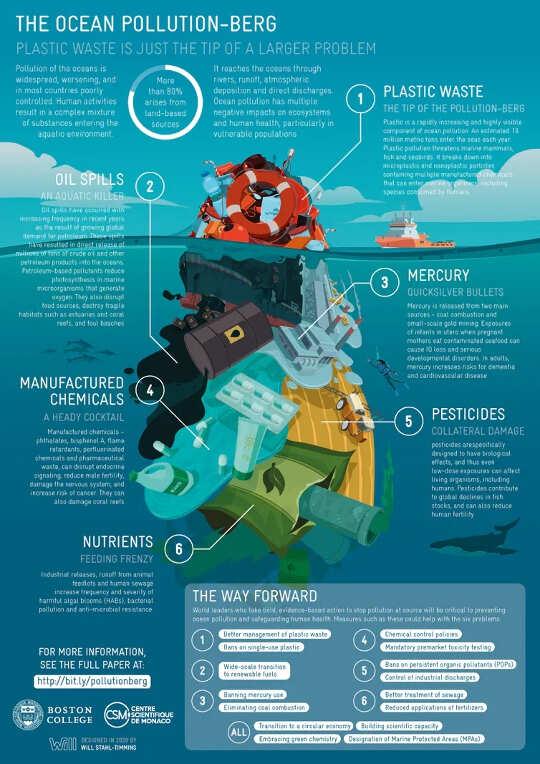 海洋汚染が人間の健康にとって明らかな危険である理由