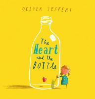 kirjan kansi: Sydän ja pullo