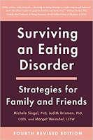 kirjan kansi: Surviving An Eating Disorder, kirjoittanut Michele Siegel, Ph.D., Judith Brisman, Ph.D., ja Margot Weinshel, MSW