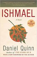 書的封面:伊斯梅爾:丹尼爾·奎因(Daniel Quinn)的《心靈與精神歷險記》。