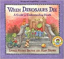 kirjan kansi: Kun dinosaurukset kuolevat