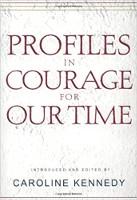 kirjan kansi: Caroline Kennedyn profiilit aikojen rohkeudessa.