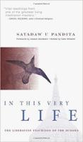 bìa sách: Trong Chính Cuộc Đời Này: Những Lời Dạy Giải Thoát Của Đức Phật của Sayadaw U. Pandita.