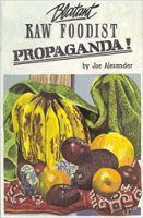 עטיפת הספר של תעמולת פודיסטית גולמית גולמית! מאת ג'ו אלכסנדר.