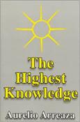 copertina del libro La più alta conoscenza di Aurelio Arreaza.