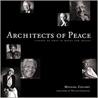 bìa sách: Architects of Peace: Visions of Hope in Words and Images của Michael Collopy.