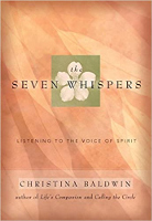 bokomslag: The Seven Whispers: A Spiritual Practice for Times like These av Christina Baldwin
