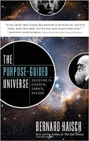 kulit buku: Alam Semesta Berpandukan Tujuan: Percaya pada Einstein, Darwin, dan Tuhan oleh Bernard Haisch.