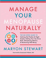 book cover: Manage Your Menopause Naturally by Maryon Stewart