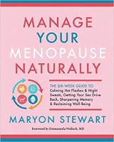 bogomslag: Manage Your Menopause Naturally af Maryon Stewart