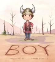フィル・カミングスとシェーン・デヴリーズによる少年の表紙。