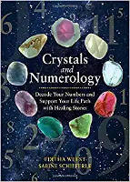 bokomslag: Crystals and Numerology: Decode Your Numbers and Support Your Life Path with Healing Stones av Editha Wuest och Sabine Schieferle