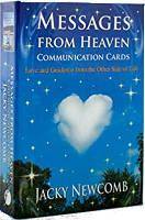 표지 그림: Jacky Newcomb의 천국 통신 카드의 메시지