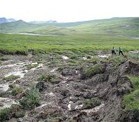 Erime permafrost