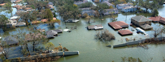 Hundred Years FloodNow Every Ten Years As Planet Warms