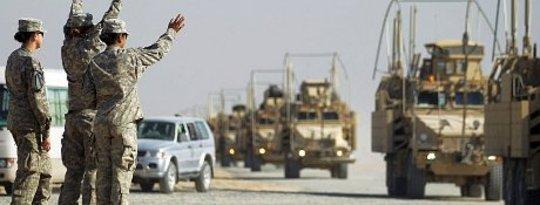 Lämna Irak