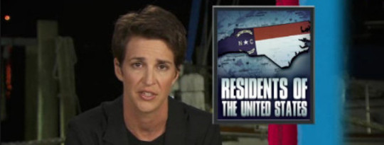Rachel Maddow Reports From Elizabeth City, NC Ground Zero Of Election Fraud