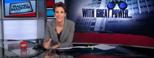 Maddow en eerder bespreek hoe NSA Bungling Implications Beyond Just Security