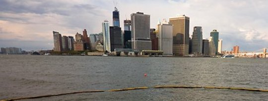 New York Skyline na Sandy