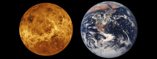 Venus And Earth: Isang Tale Of Two Planets