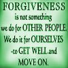 30 Days to Live? Try Forgiveness!