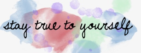 Being True to Your Self by Marie T. Russell
