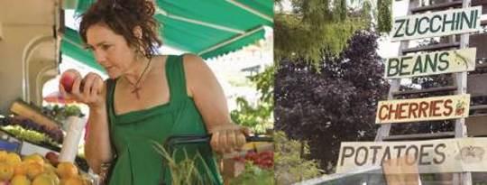Koop plaaslike voedselbronne