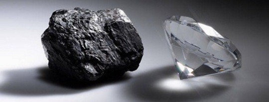 When Life Gets You Down: Turning Coal into Diamonds